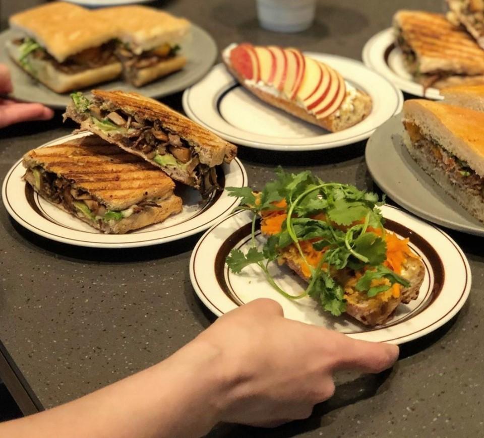Mia Nonna Sandwiches: Mia Nonna currently offers six sandwiches. (Photo credit: Mia Nonna)