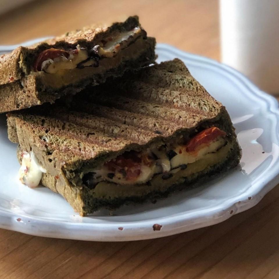 Mia Nonna Very Italian Sandwich: Mia Nonna's Very Italian panini (Photo credit: Mia Nonna)