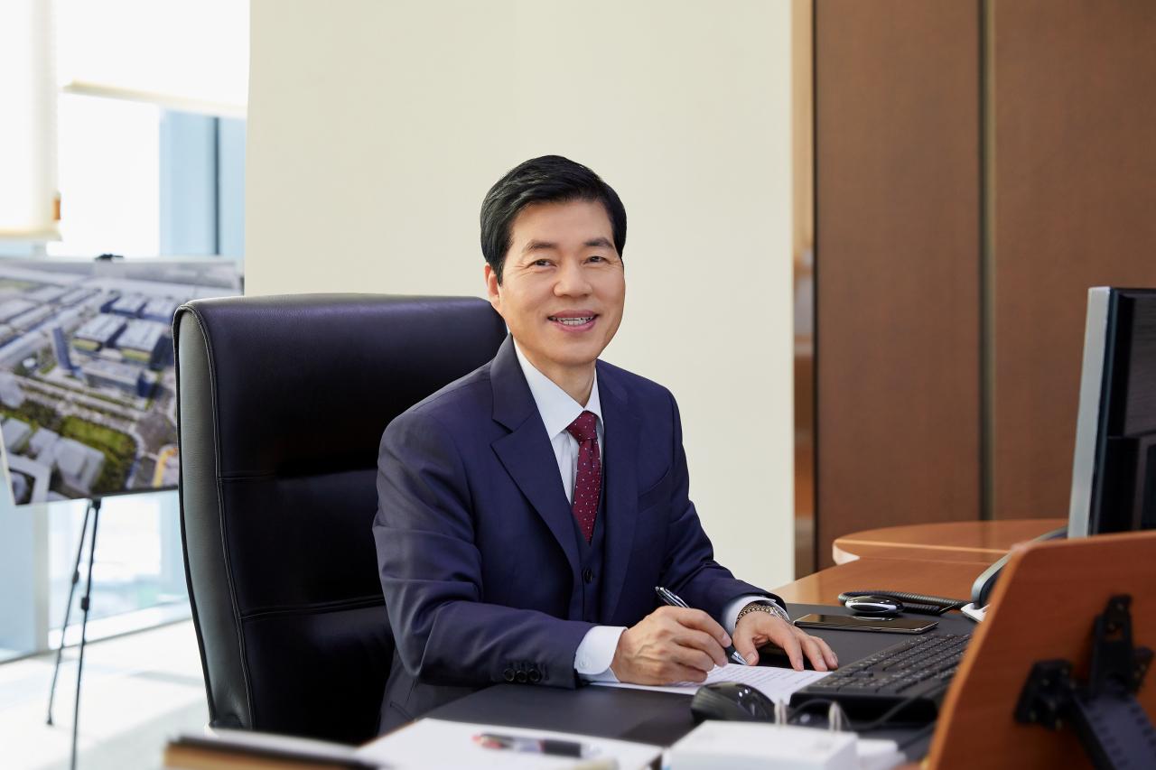 CEO Kim Tae-han of Samsung Biologics (Samsung Biologics)