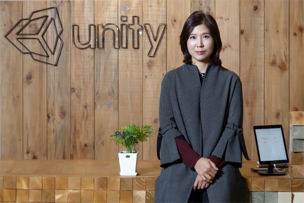 Unity Technologies Korea's Country Manager Kim In-suk (Unity Korea)