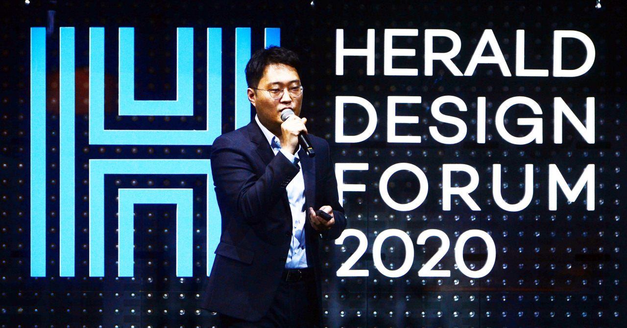 D'strict CEO Lee Sung-ho (Park Hae-mook/The Korea Herald)