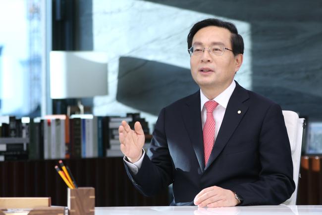 Woori Financial Group Chief Sohn Tae-seung (Woori Financial Group)