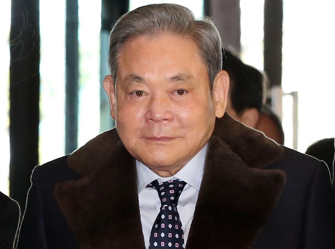 Samsung Chairman Lee Kun-hee (Yonhap)