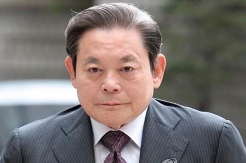 Lee Kun-hee, the chairman of Samsung (Yonhap)