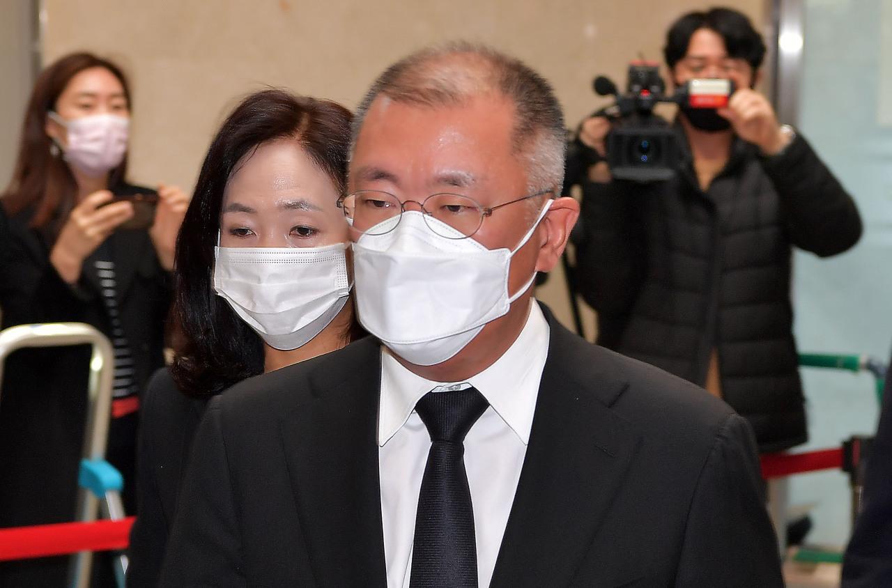 Hyundai Motor Group Chairman Chung Euisun (Yonhap)