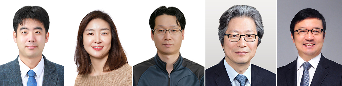 From left: Ju Young-seok from KAIST, Lee Joo-hyeon from the University of Cambridge, Choi Byeong-sun from the Korea National Institute of Health, Koh Gou-young from the Institute for Basic Science and Kim Young-tae from Seoul National University Hospital (KAIST)
