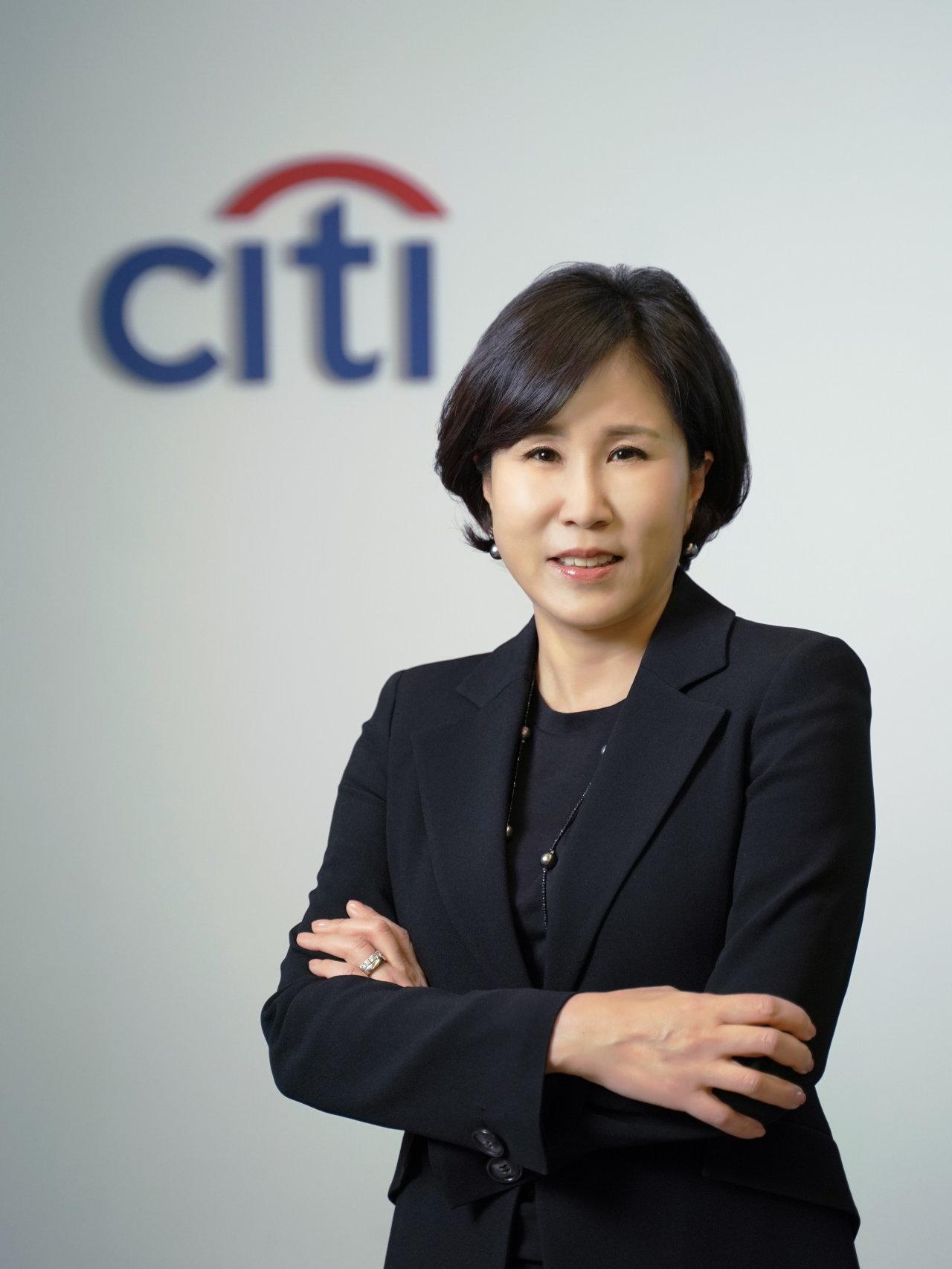Yoo Myung-soon, new CEO of Citibank Korea (Citibank Korea)