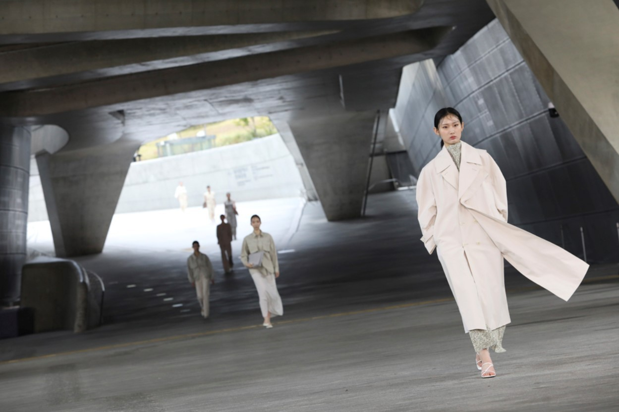 Oct31 shows its new collection through the digital runway for the 2021 S/S Seoul Fashion Week. (Seoul Design Foundation)
