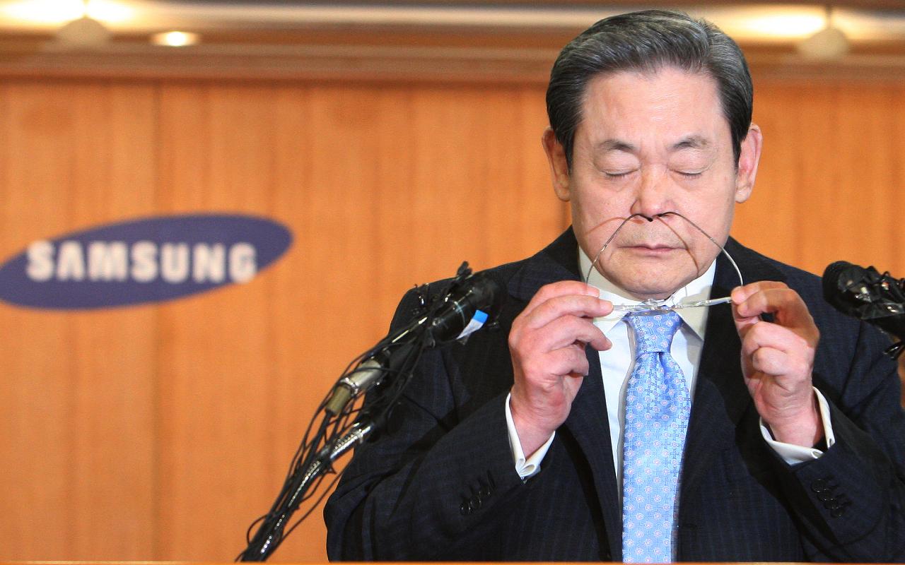 Late Samsung Group Chairman Lee Kun-hee (Yonhap)