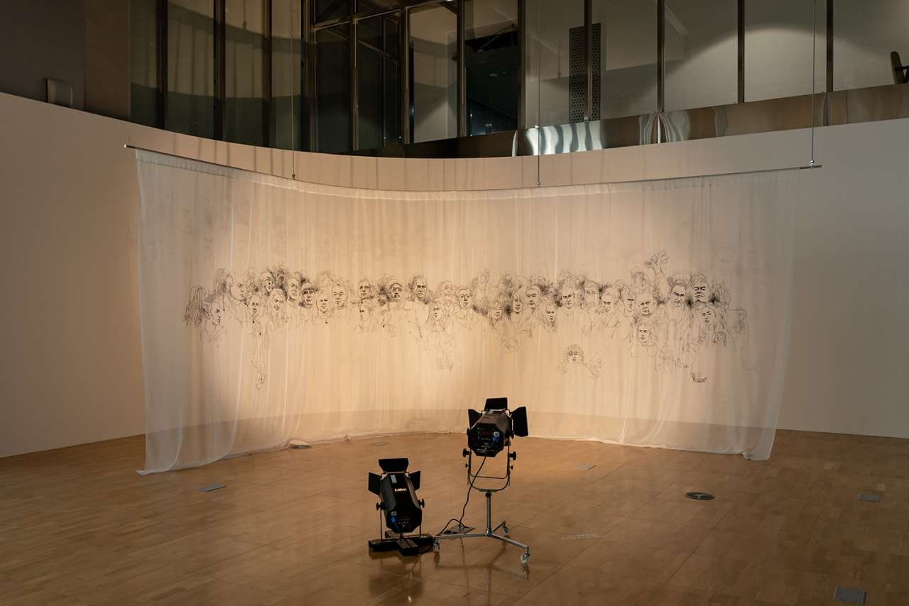 """""""Double Encounter"""" by Hong Young-in at the Asia Culture Center (Gwangju Biennale Foundation)"""
