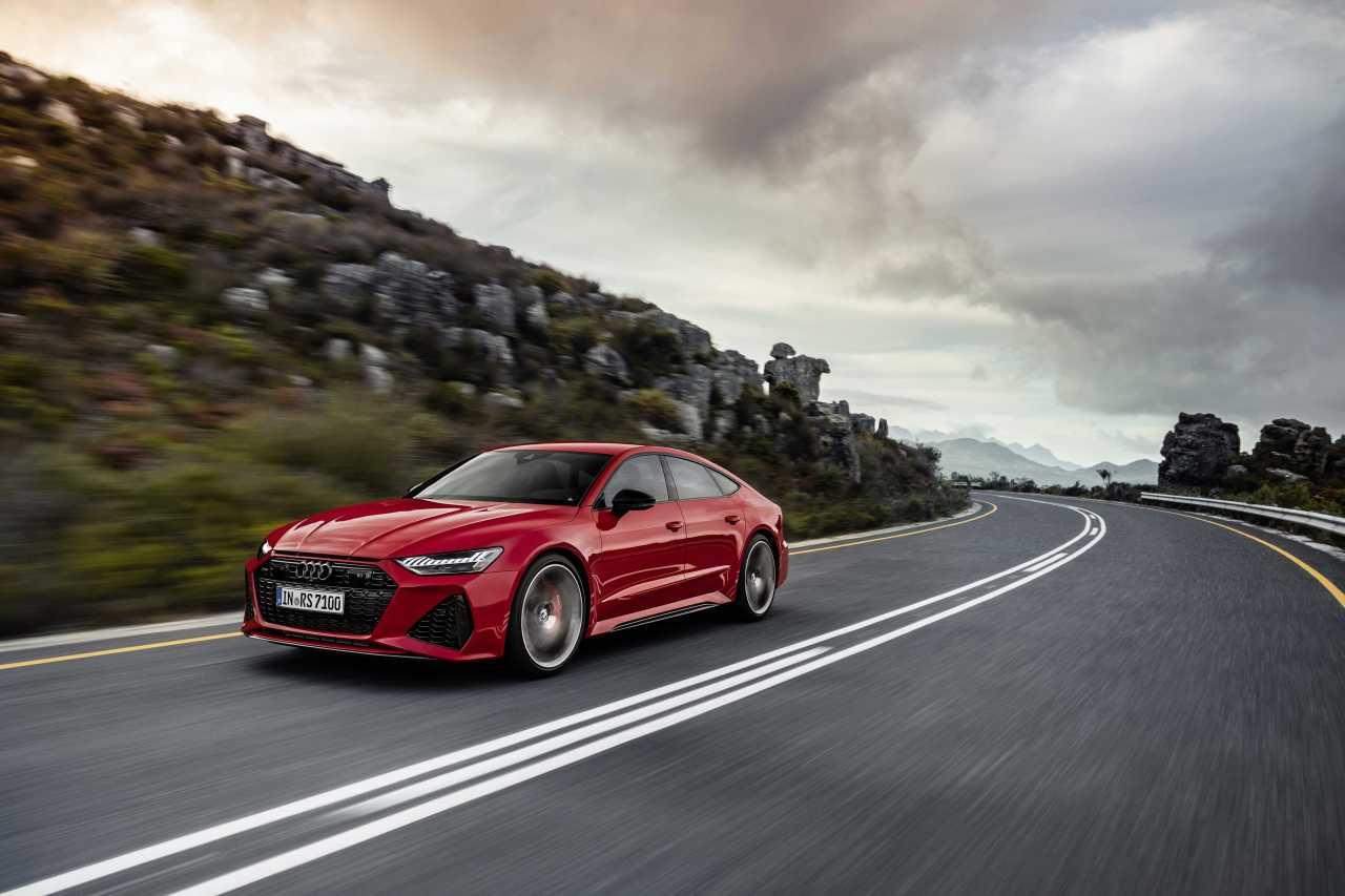 Audi RS7 Sportback model (Hankook Tire & Technology Co.)