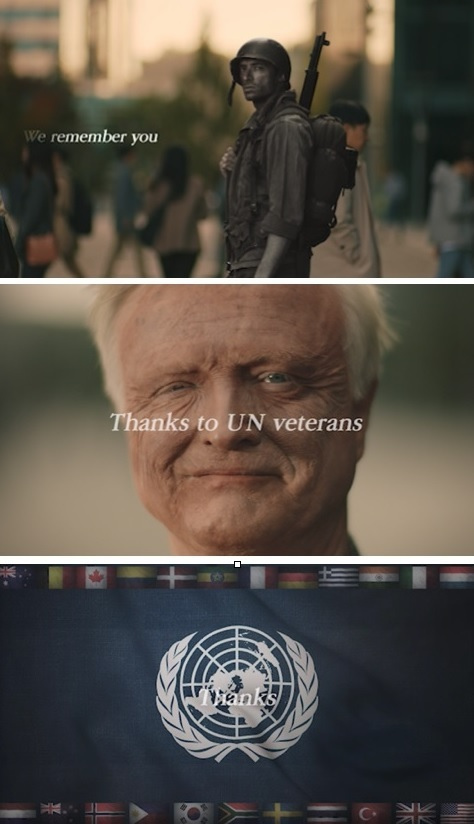 A billboard ad thanking veterans. (Ministry of Patriots and Veterans Affairs)