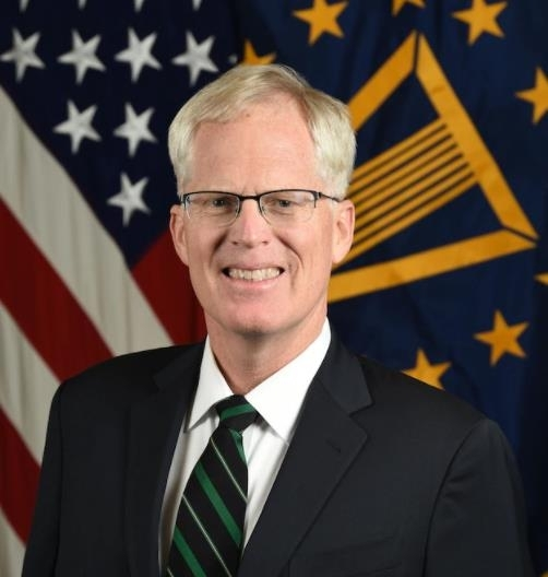 The captured image from the website of the US Department of Defense shows Christopher C. Miller, former director of the National Counterterrorism Center, who was named acting secretary of defense by US President Donald Trump on Monday. (Screenshot captured from US Department of Defense website)