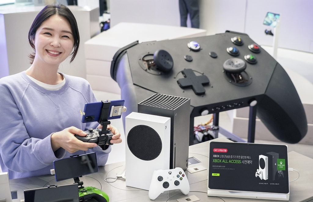 Xbox Series S and the Series X (SK Telecom Co.)