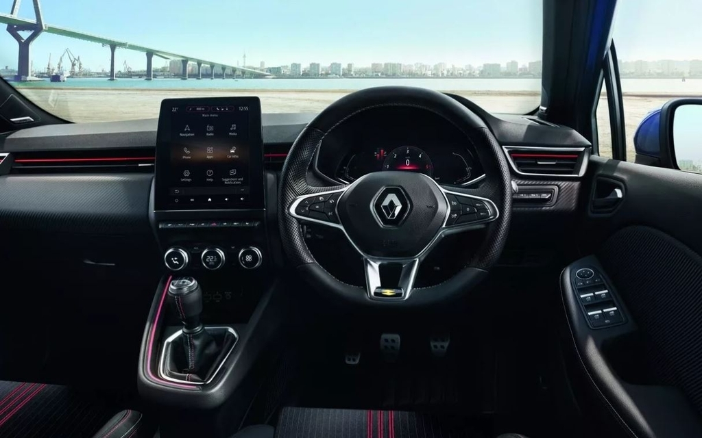LG Electronics' center information display product in a Renault vehicle. (LG Electronics Inc.)