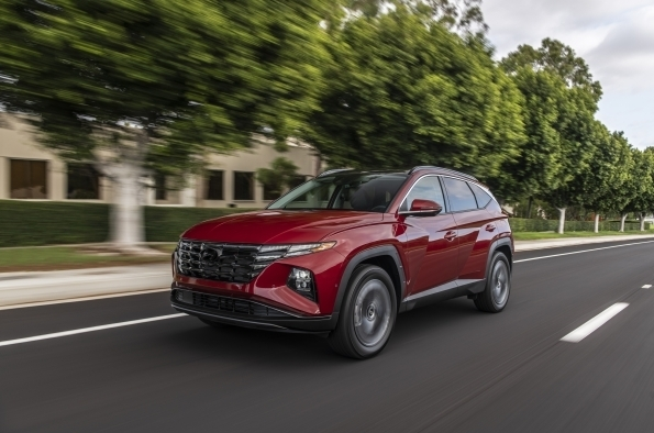2021 Tucson SUV (Hyundai Motor Co.)
