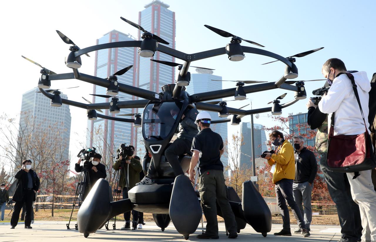 Lift Aircraft Hexa eVTOL drone (Yonhap)