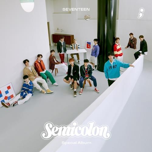 The album art for boy band Seventeen's new special album