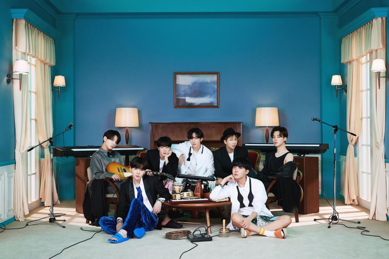 K-pop boy band BTS (Big Hit Entertainment)