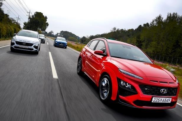 Hyundai Motor's new Kona N-Line (Hyundai Motor)
