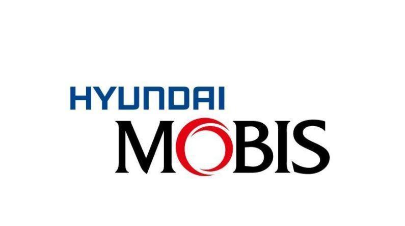 The logo of Hyundai Mobis (Hyundai Mobis Co.)