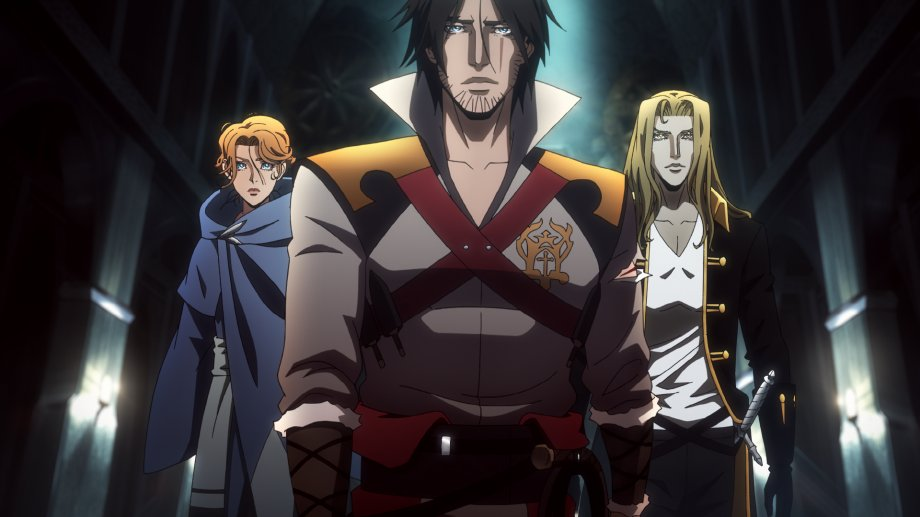 "Netflix original animation series ""Castlevania"" (Netflix)"