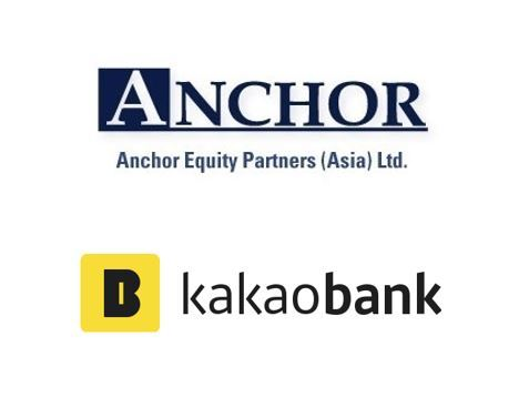 Logos of Anchor Equity Partners and Kakao Bank
