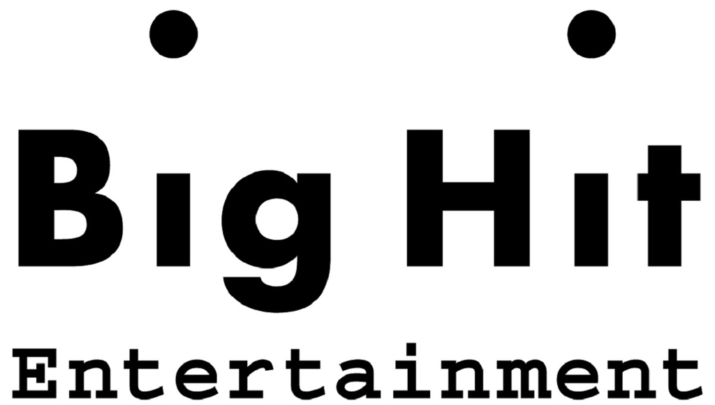 This photo, provided by Big Hit Entertainment, shows the corporate logo for the agency-label. (Big Hit Entertainment)