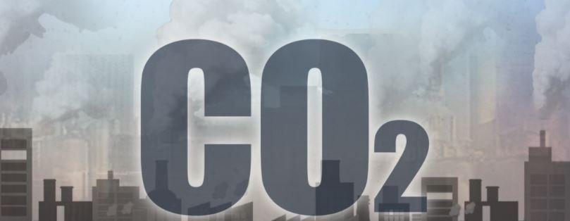 Carbon dioxide emissions. (Yonhap)
