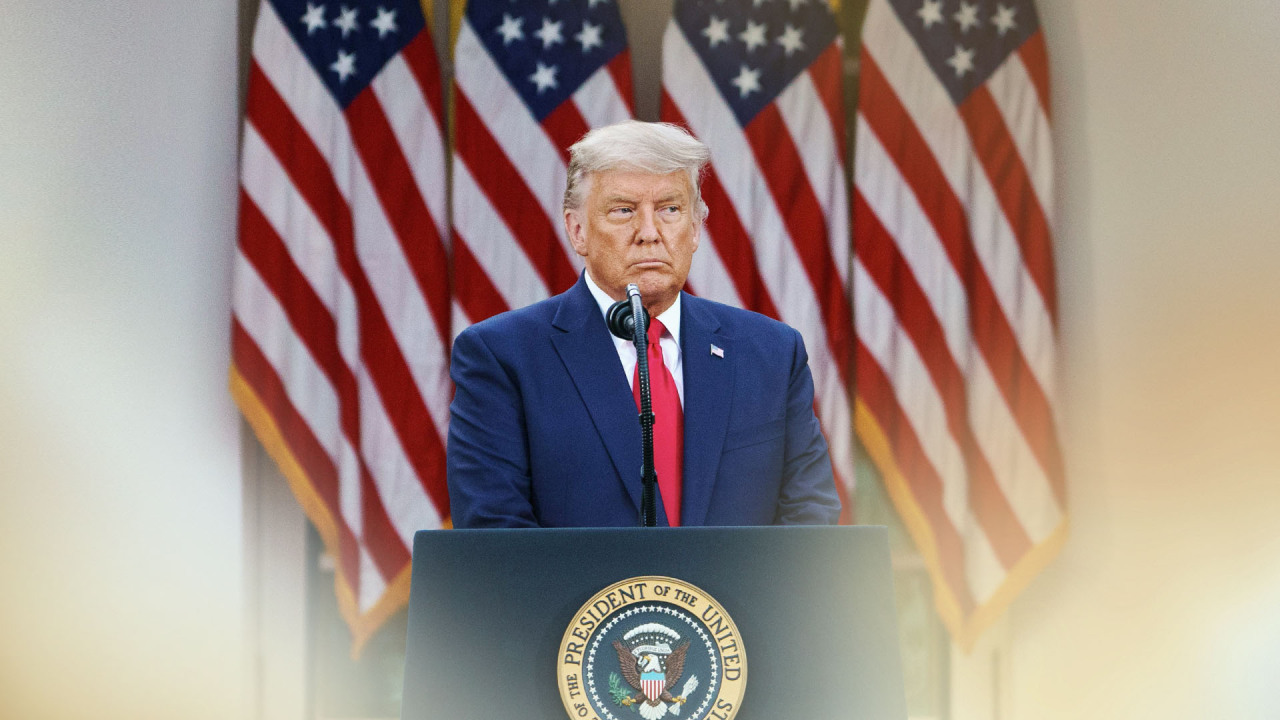 US President Donald Trump (Yonhap News TV)