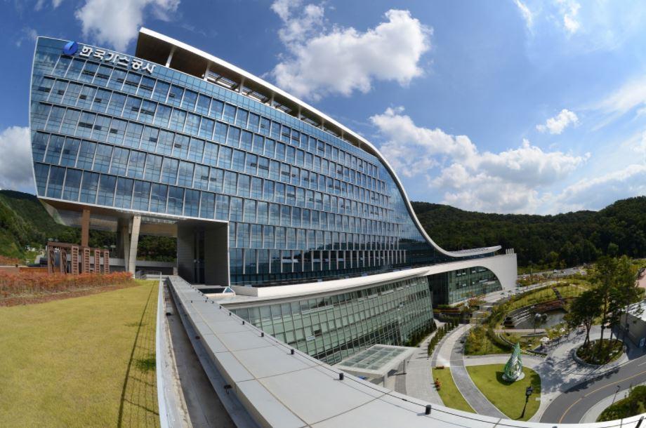 Headquarters of Korea Gas Corporation (Kogas)