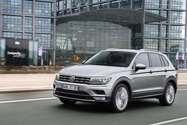 Volkswagen's 2020 Tiguan (Volkswagen Korea)