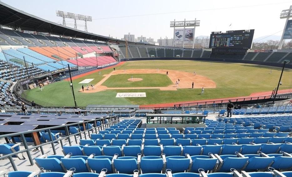 Jamsil Baseball Stadium (Yonhap)