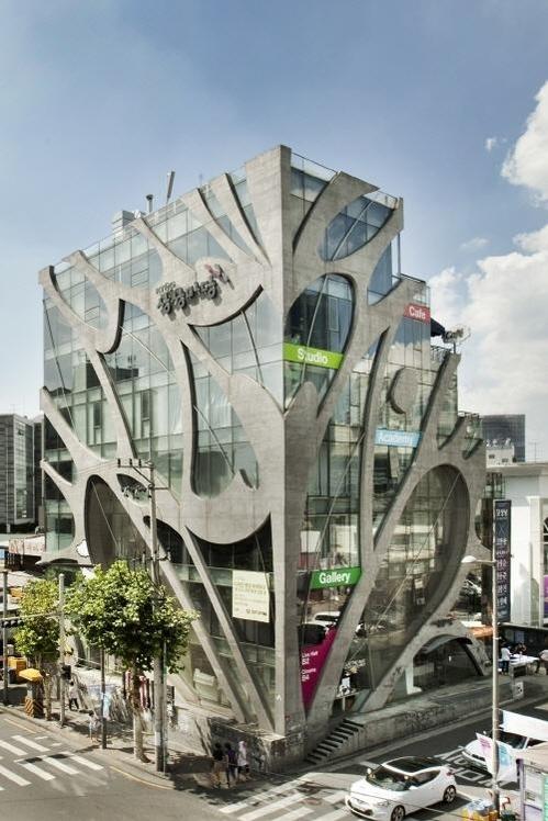 KT&G Sangsang Madang in Hongdae, Seoul (KT&G)