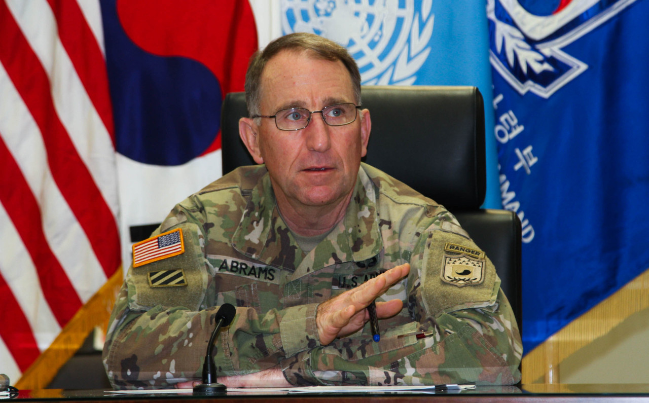 United States Forces Korea Commander Gen. Robert Abrams (Republic of Korea-US Combined Forces Command)