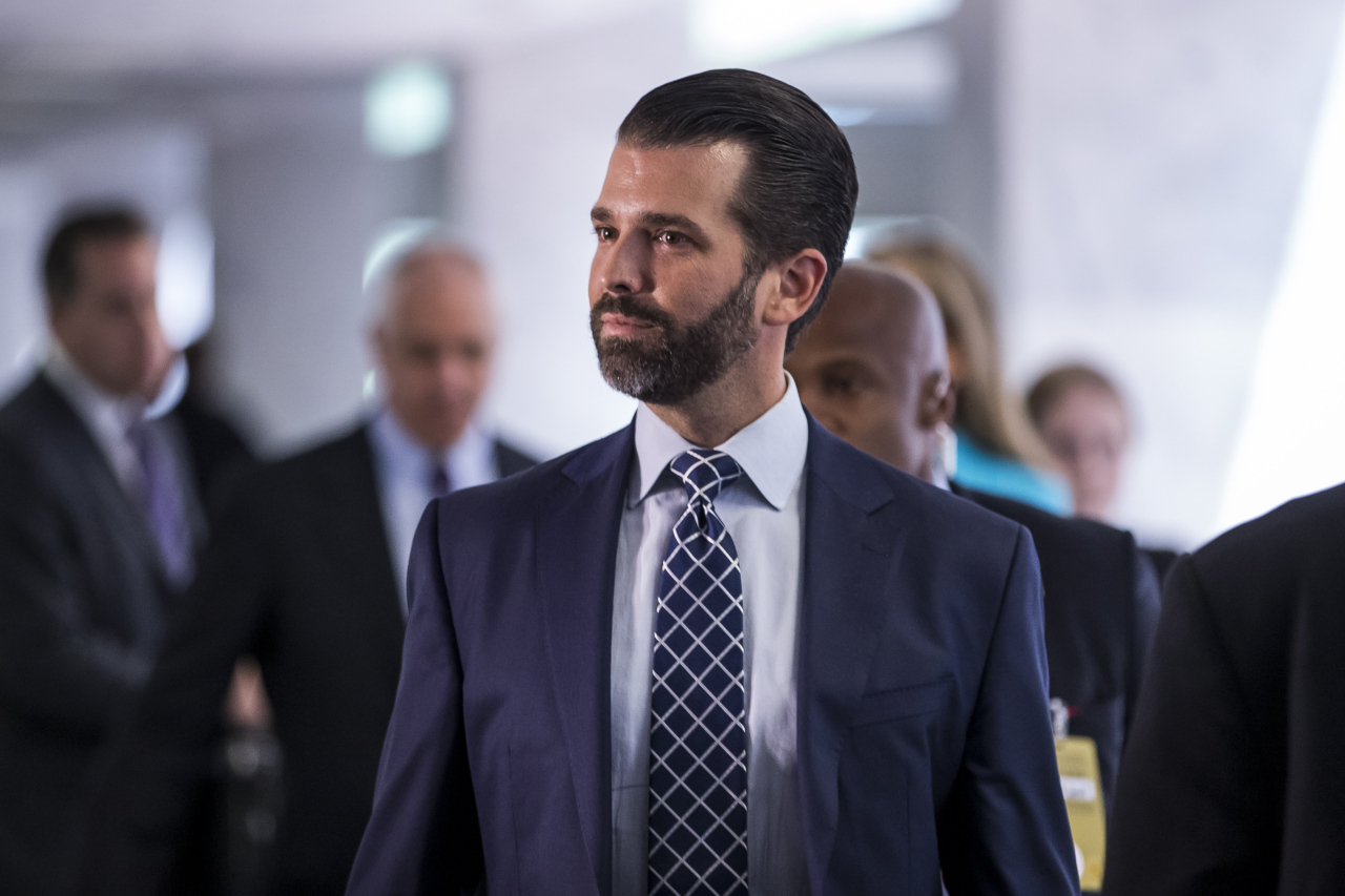 Donald Trump Jr (Yonhap)