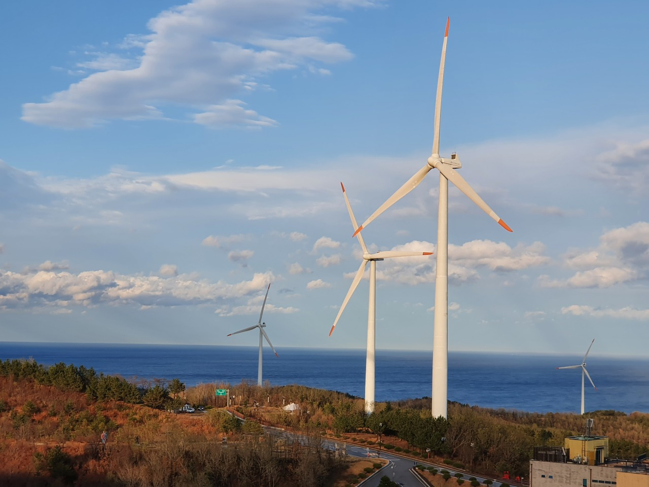Yeongdeok Wind Farm (Kim Byung-wook/The Korea Herald)