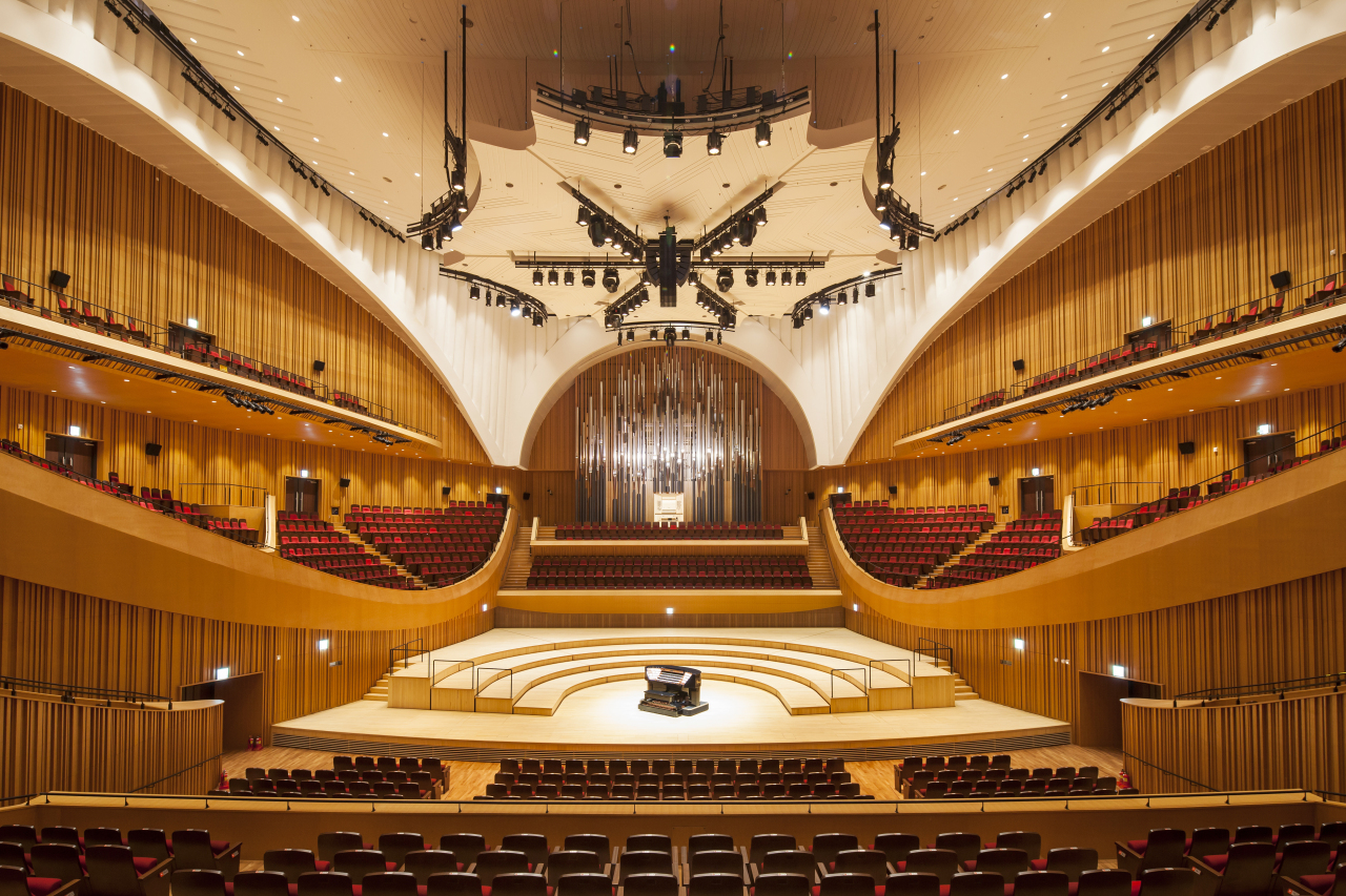The Lotte Concert Hall in Jamsil, eastern Seoul (Lotte Foundation for Arts)