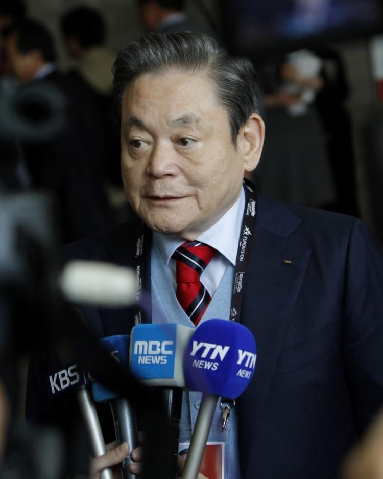 Late Samsung Group Chairman Lee Kun-hee (Samsung Group)
