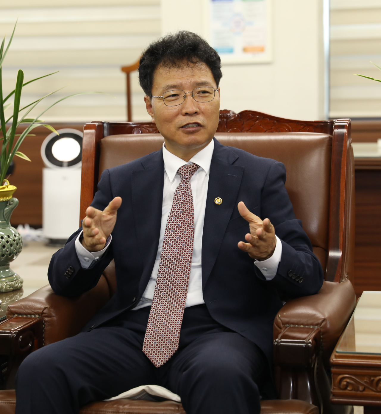 KIPO Commissioner Kim Yong-rae (KIPO)