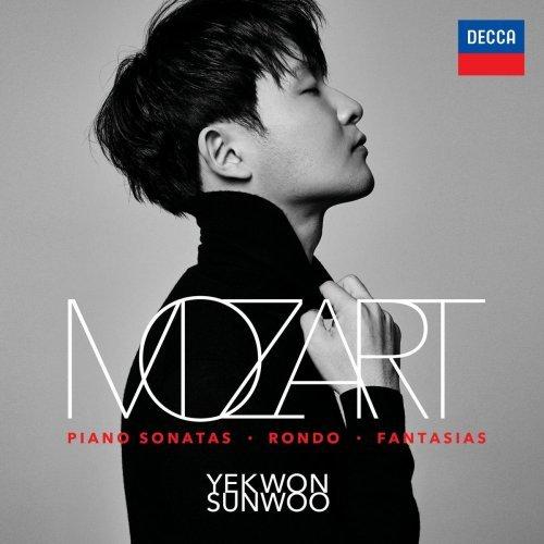 """Album cover image for """"Mozart"""" by Sunwoo Yekwon (Mast Media)"""