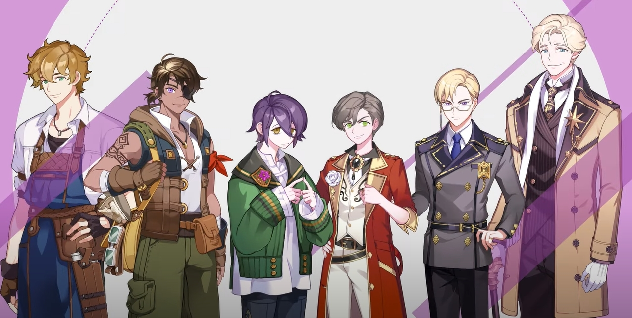 Non-playable male characters inside Magical Atelier. (Captured from YouTube)