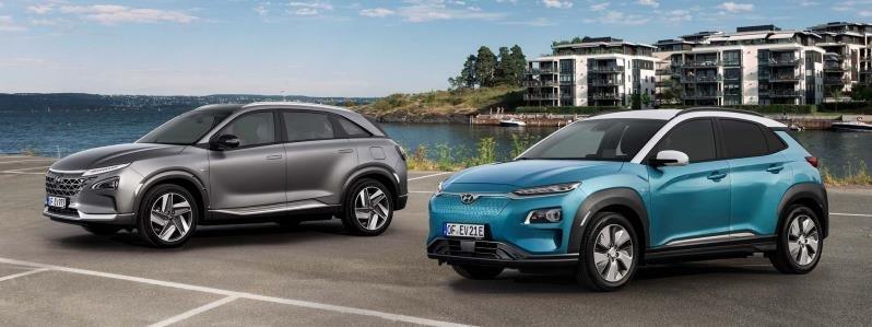Kona EV models (Hyundai Motor Co.)