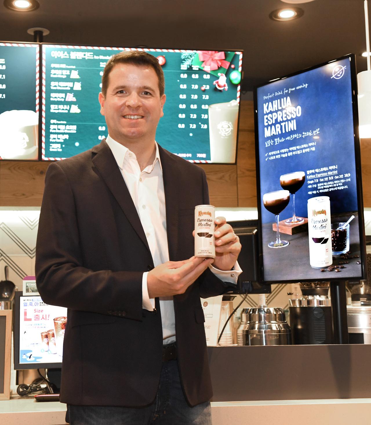 Florent Leroi, marketing director at Pernod Ricard Korea (PRK)