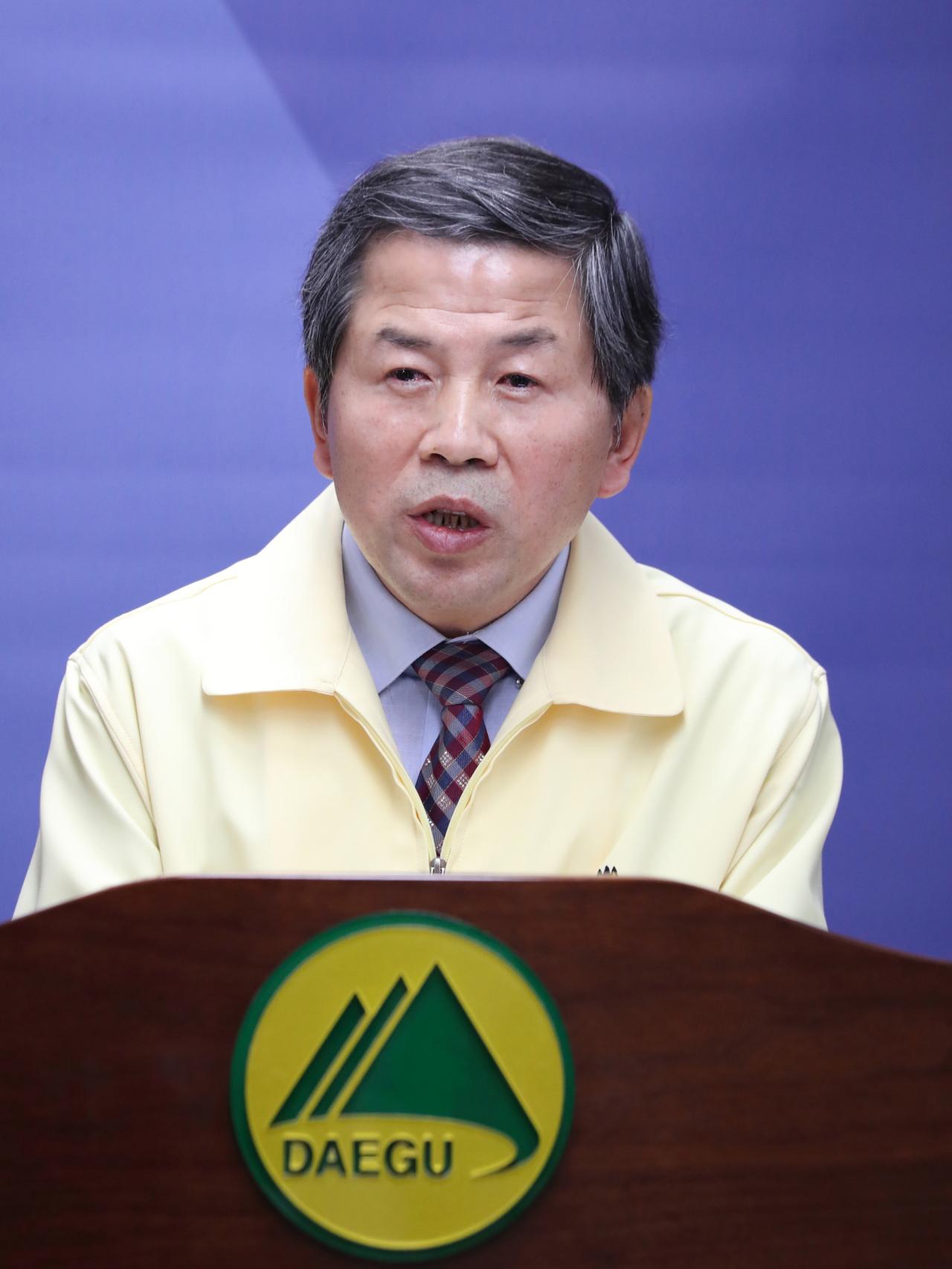 Daegu`s public health director Kim Jae-dong (Daegu Office)