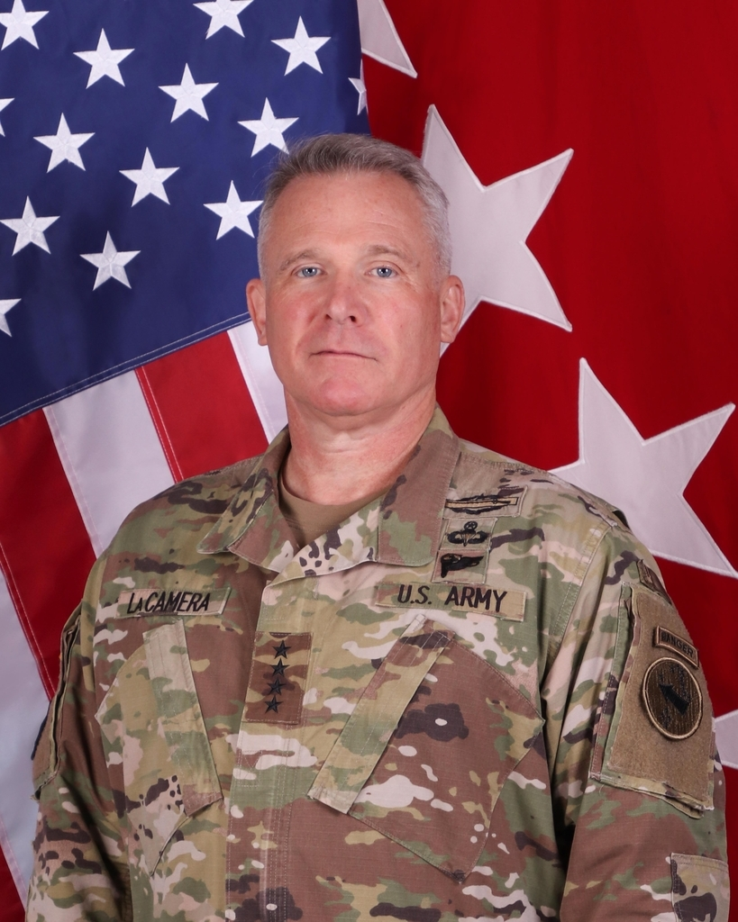 This photo downloaded from the US Army Pacific website on Friday, shows Gen. Paul LaCamera. (US Army Pacific website)