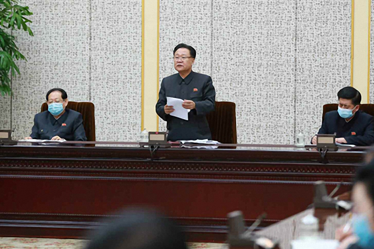 North Korea will hold a Supreme People's Assembly meeting in late January. (KCNA-Yonhap)