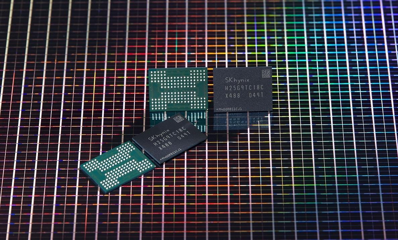 SK hynix's 176-layer 512-gigabit NAND flash (SK hynix)