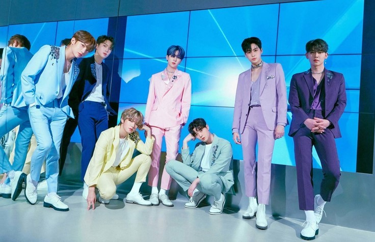 This photo, provided by Top Media, shows members of K-pop boy band UP10TION. (Top Media)