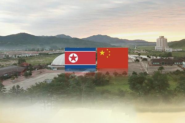 North Korea-China trade (Yonhap)